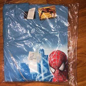 Spiderman 2 Promo Shirt XL NWT NY Spidey